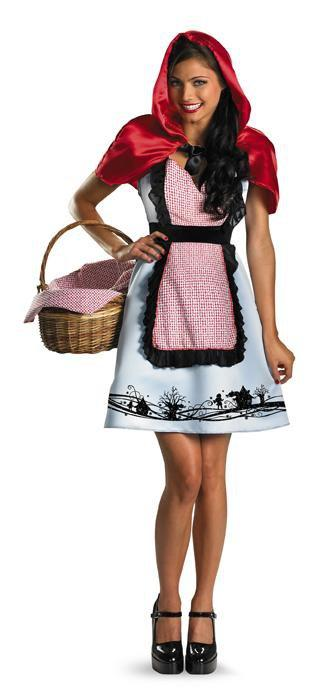 Disguise Costumes Teen Girls Fairytale Riding Hood Costume