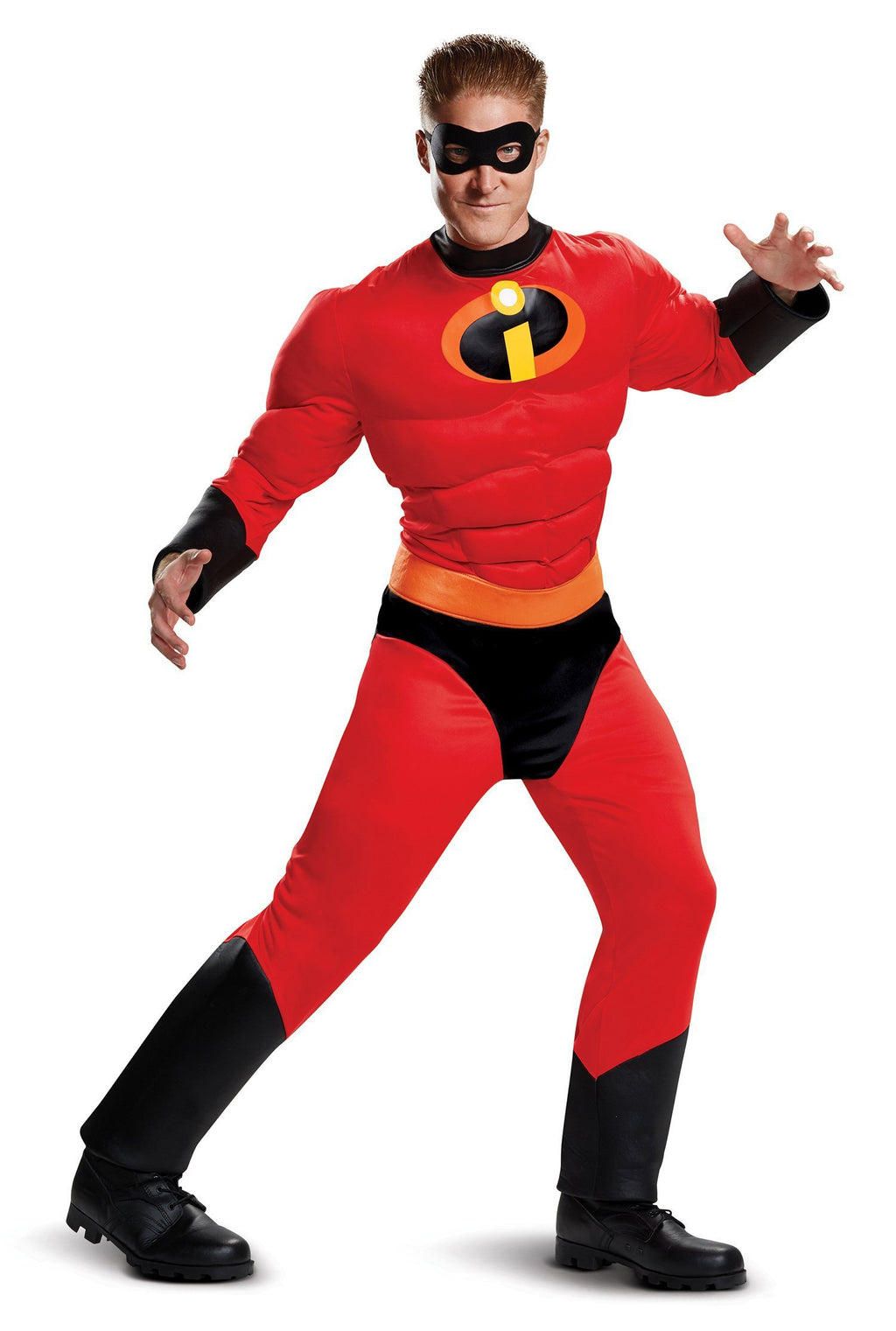 Disguise Costumes X-LARGE (42-46) Mr. Incredible Muscle Costume - The Incredibles