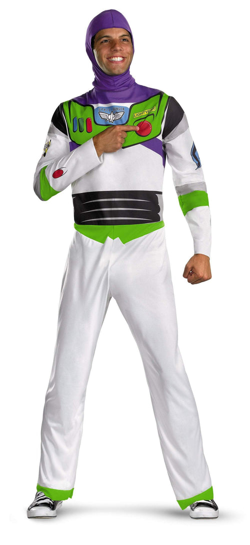 Disguise Costumes XL 42-46 Adult Classic Buzz Lightyear Costume - Toy Story