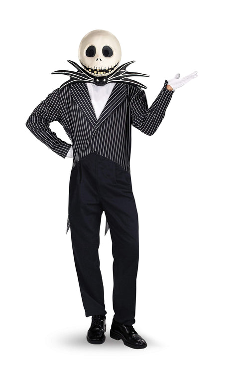 Disguise Costumes XL 42-46 Adult Jack Skellington Deluxe Costume