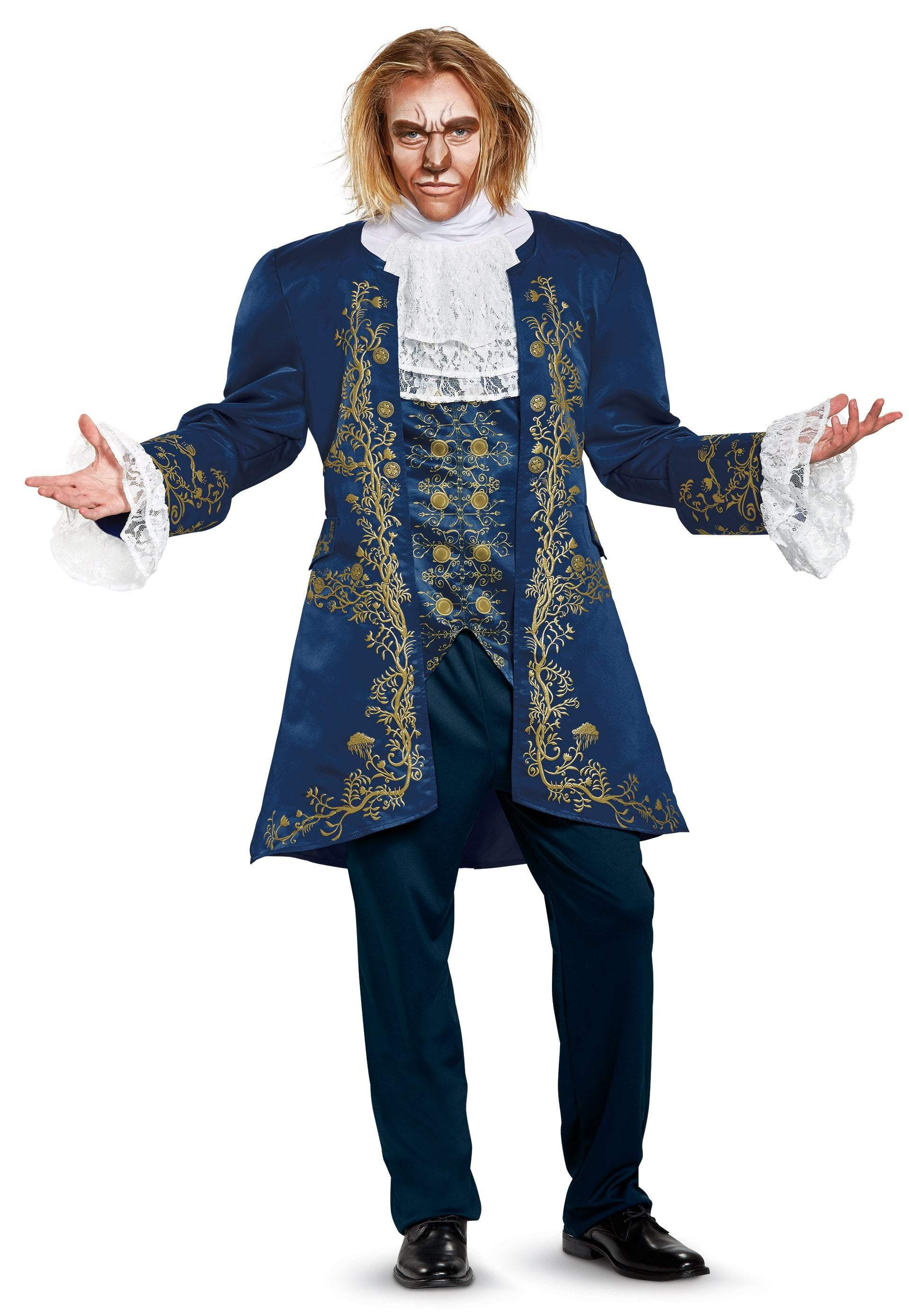Disguise Costumes XLARGE (42-46) Adult Beast Prestige Costume - Beauty and the Beast