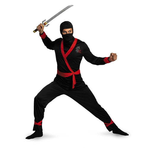 Disguise Costumes XLARGE (42-46) Adult Ninja Master Costume