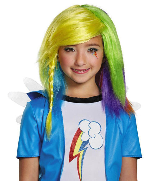 Disguise Wigs Rainbow Dash Equestria Wig - My Little Pony
