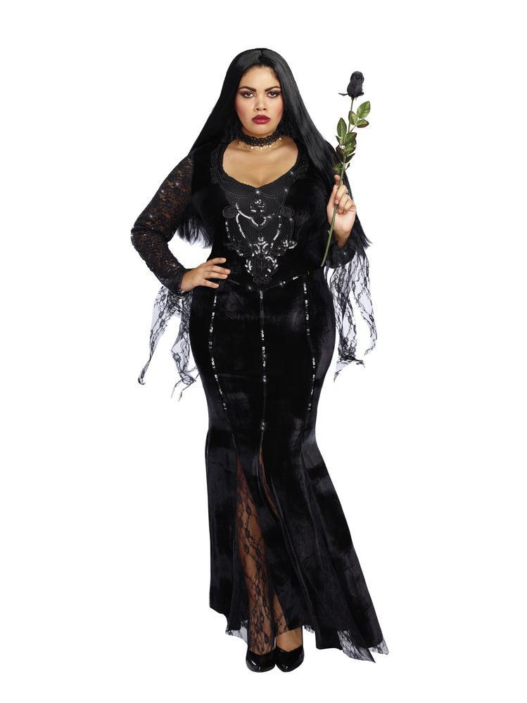 Dreamgirl Costumes 1X Frightfully Beautiful Plus Size Costume
