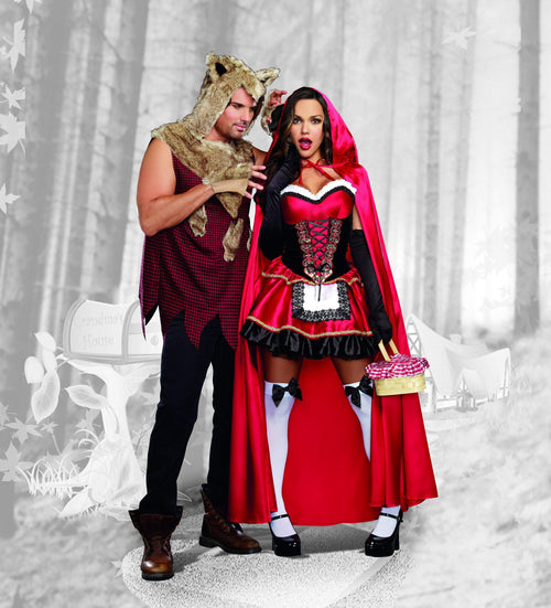 Dreamgirl Costumes Adult Big Bad Wolf Costume