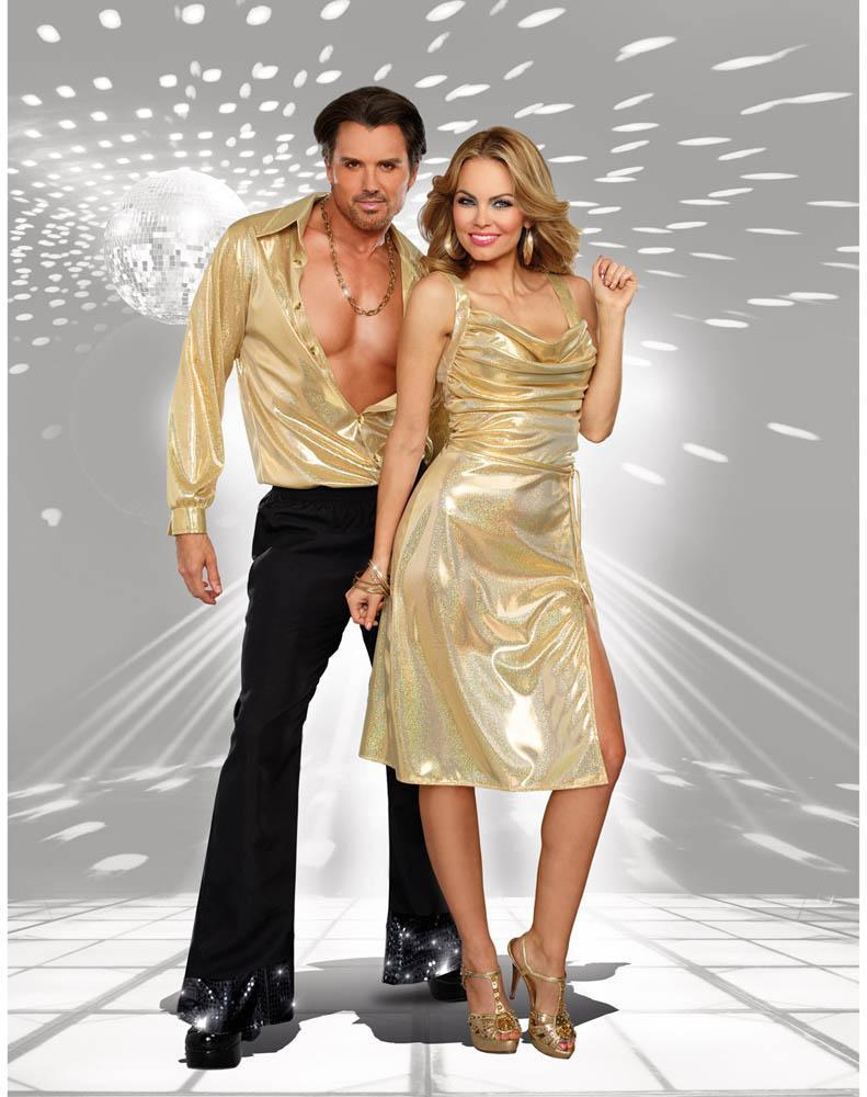 Dreamgirl Costumes Adult Disco Inferno Costume