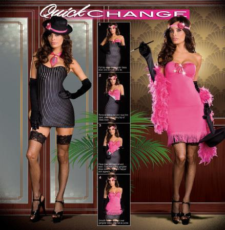 Dreamgirl Costumes Adult From Gangster To Gorgeous Costume
