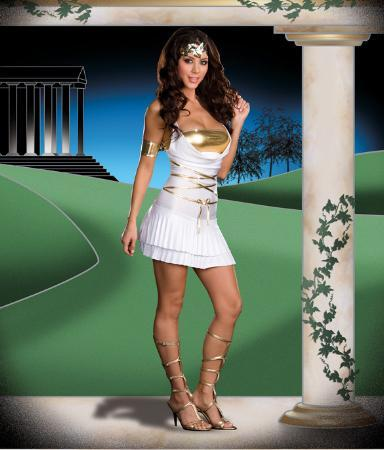 Dreamgirl Costumes Adult Goddess Lustalicious Costume