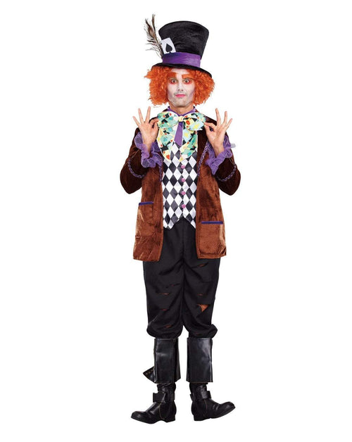 Dreamgirl Costumes Adult Hatter Madness Costume