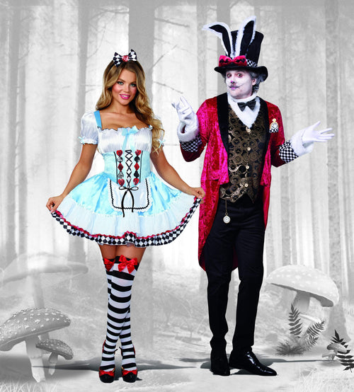 Dreamgirl Costumes Adult Mens White Rabbit Costume