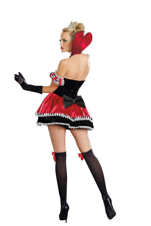 Dreamgirl Costumes Adult Queen Of Hearts Costume