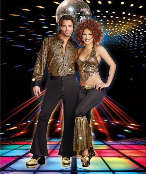 Dreamgirl Costumes Adult Stayin' Alive Disco Costume