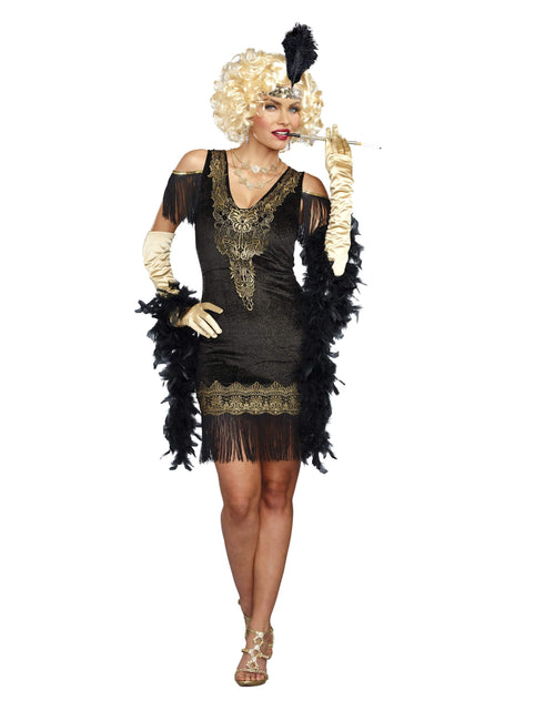 Dreamgirl Costumes Adult Swanky Flapper Costume