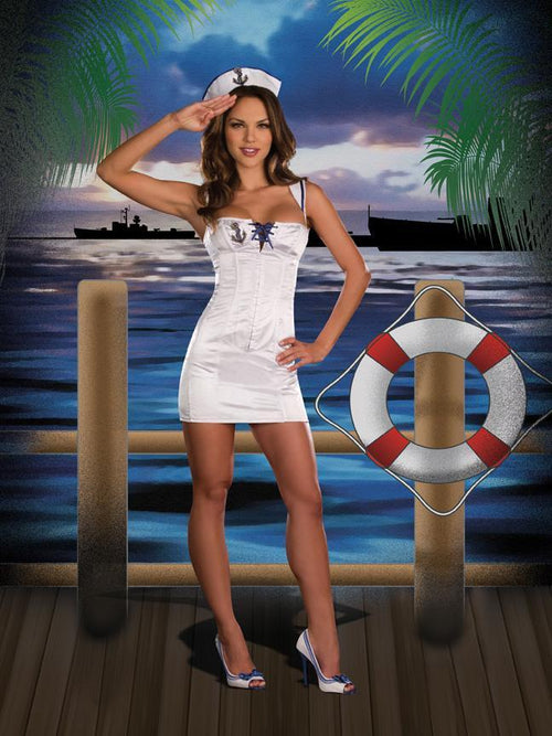 Dreamgirl Costumes Anchors Away Costume