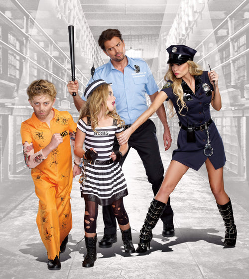 Dreamgirl Costumes Boys Escape Convict Costume