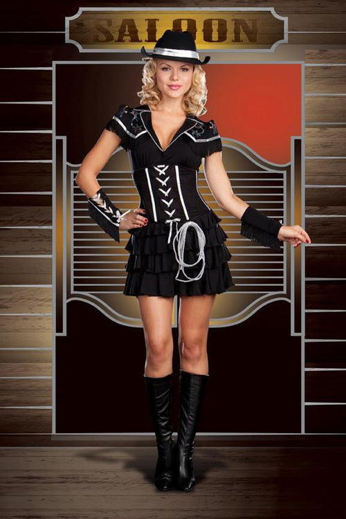 Dreamgirl Costumes COLOR / MEDIUM Diamond Cowgirl Costume