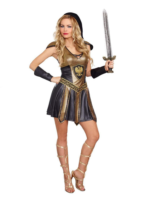 Dreamgirl Costumes Deadly Warrior Womens Costume
