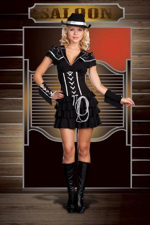 Dreamgirl Costumes Diamond Cowgirl Costume