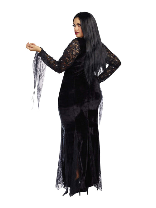 Dreamgirl Costumes Frightfully Beautiful Plus Size Costume
