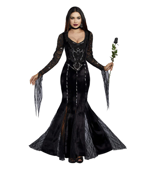 Dreamgirl Costumes Frightfully Beautiful Vampire Costume