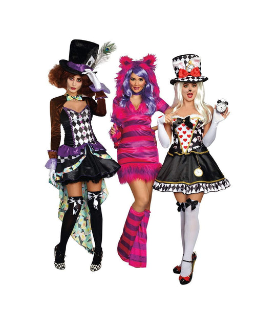Dreamgirl Costumes Hatter Madness Costume