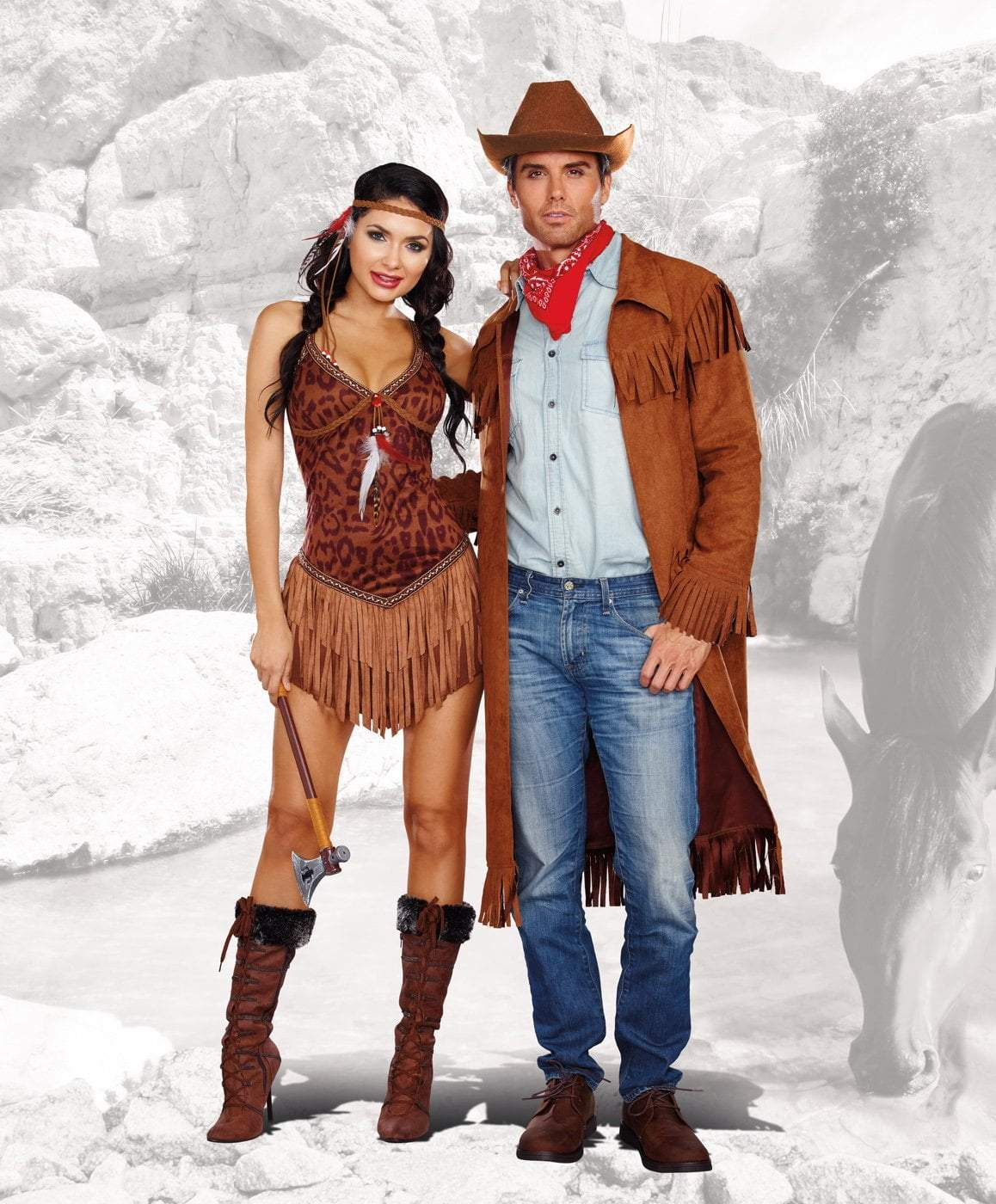 77b5f606151 Dreamgirl Costumes Hot On The Hunt Indian Costume