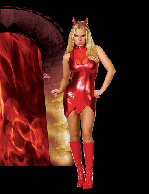 Dreamgirl Costumes Hotter Than Hell Devil Costume
