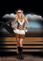 Dreamgirl Costumes Howdy Partner Cowgirl Costume