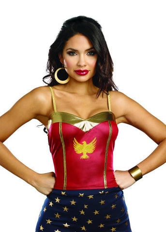 Girls Wonder Woman Necklace