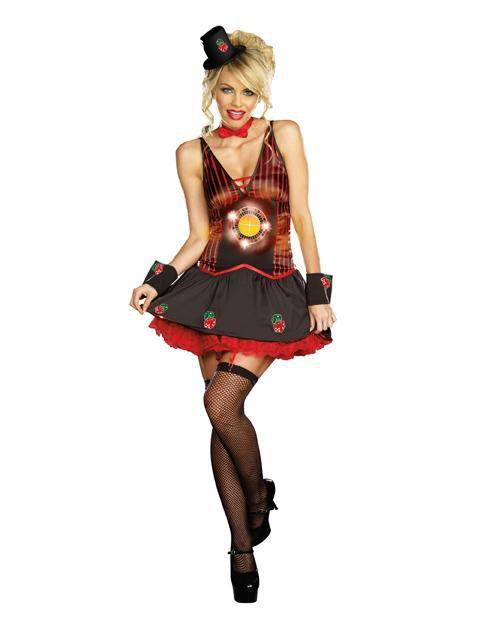Dreamgirl Costumes L Lucky U Casino Costume