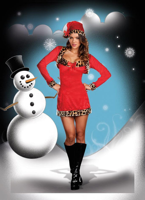 Dreamgirl Costumes L Wild About Christmas Costume