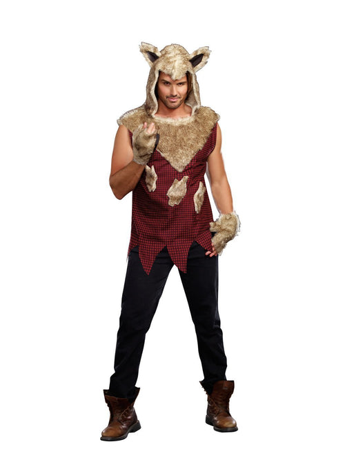 Dreamgirl Costumes LARGE Adult Big Bad Wolf Costume
