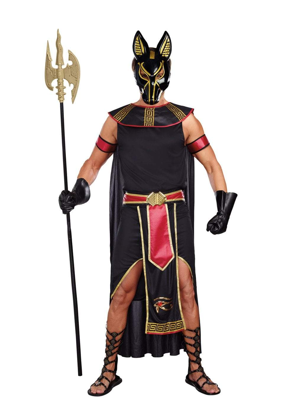 Dreamgirl Costumes LARGE Anubis, God Of The Underworld Costume