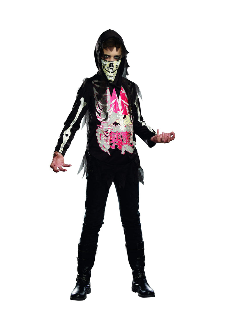 Dreamgirl Costumes LARGE Boys No Guts No Glory Skeleton Costume