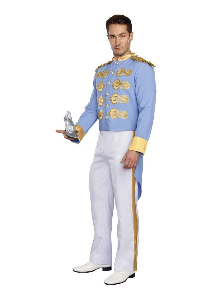 Dreamgirl costumes LARGE Dreamgirl Men's Handsome Prince Costume