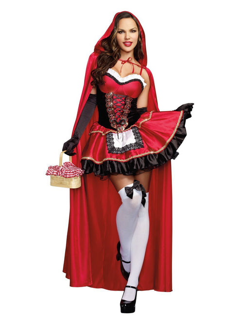 Dreamgirl Costumes LARGE Little Red Riding Costume
