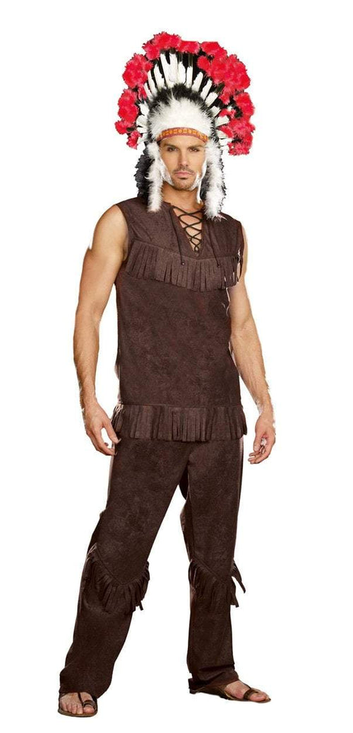 Dreamgirl Costumes LARGE Men's Chief Long Arrow Costume