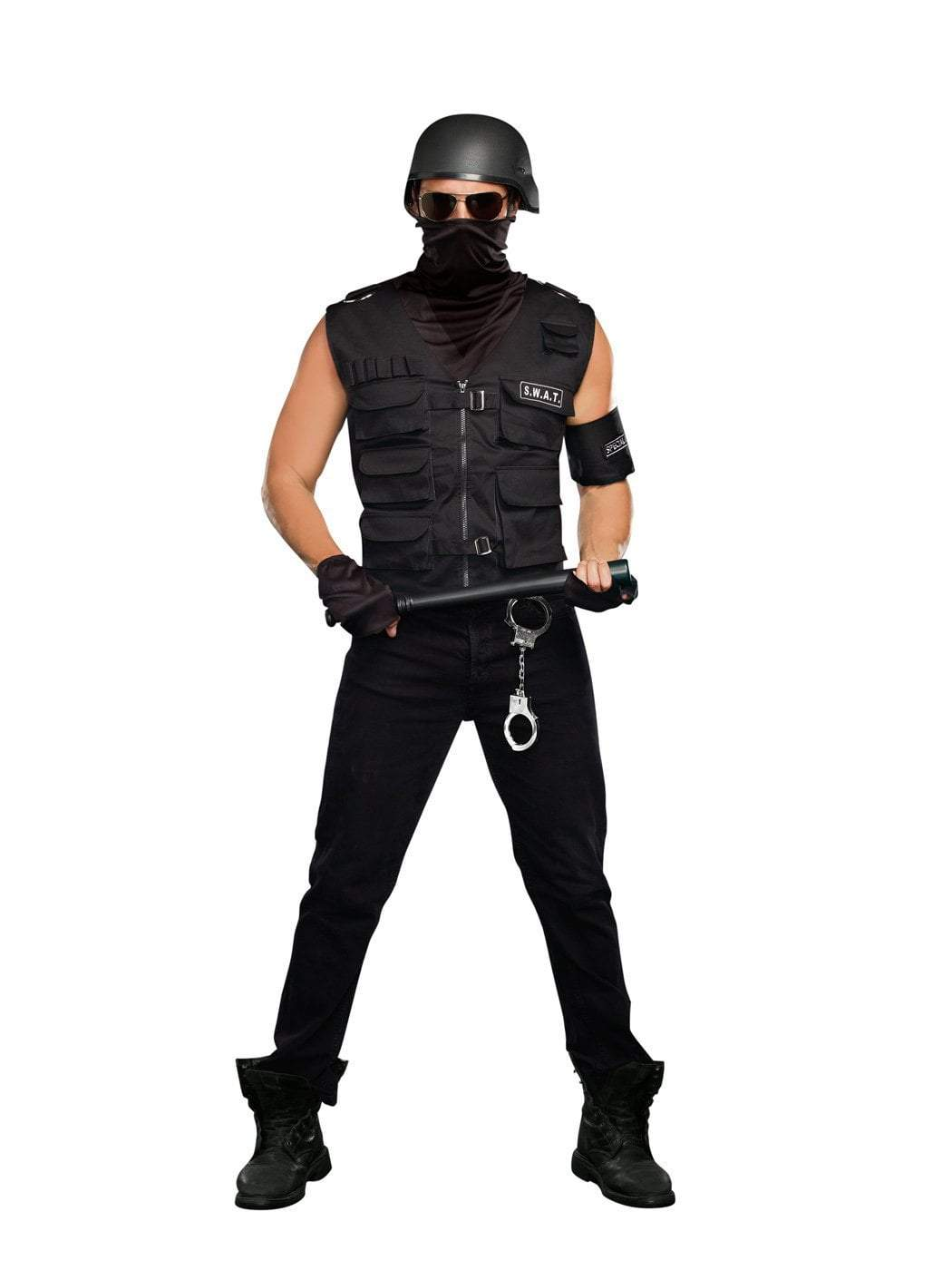 Dreamgirl Costumes LARGE Men's Special Ops Police Costume
