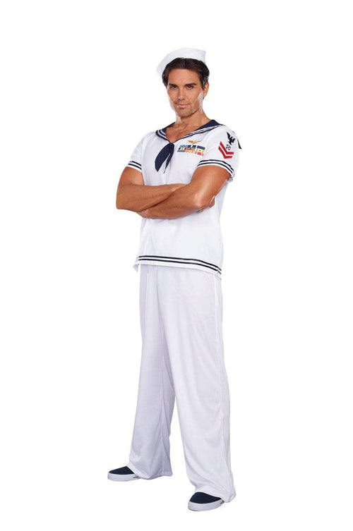 Dreamgirl Costumes LARGE Mens Ship Happens Sailor Costume