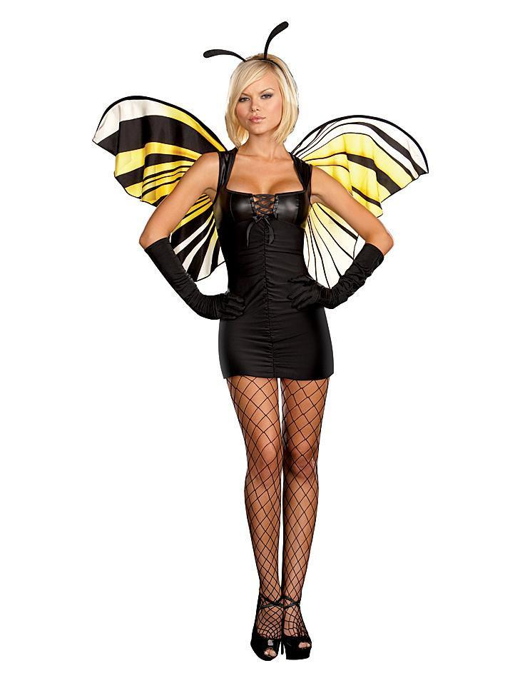 Dreamgirl Costumes LARGE Mistress Butterfly Costume