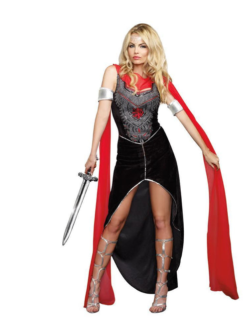 Dreamgirl Costumes LARGE Scandalous Sword Warrior Costume