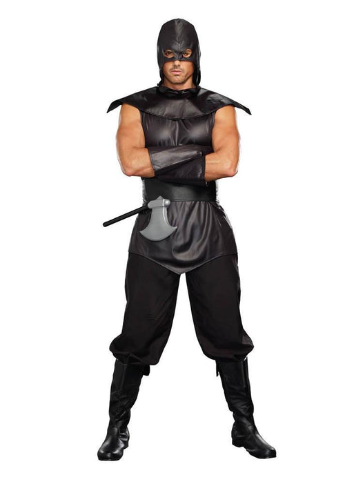 "Dreamgirl Costumes LARGE ""The Assasin"" Mens Costume"