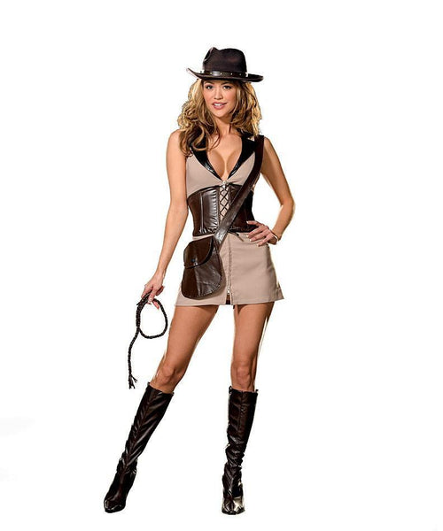 Dreamgirl Costumes LARGE Treasure Hunter Costume