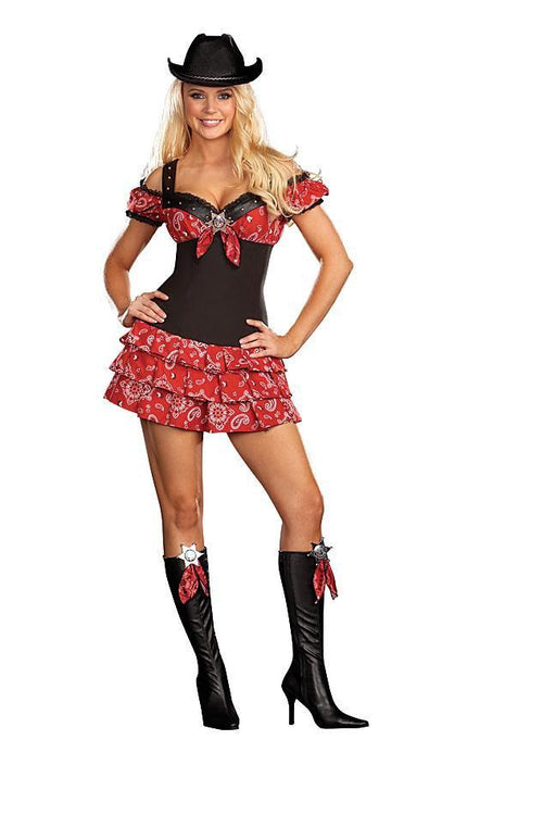 Dreamgirl Costumes LARGE Wild West Costume