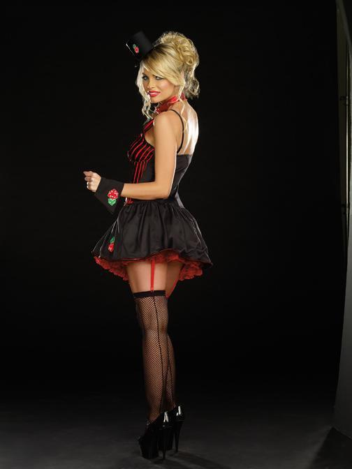 Dreamgirl Costumes Lucky U Casino Costume