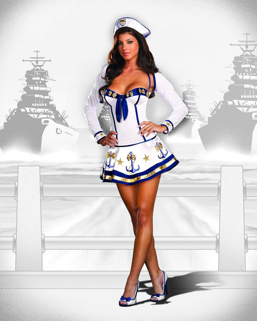 Dreamgirl Costumes Makin' Waves Sailor Costume