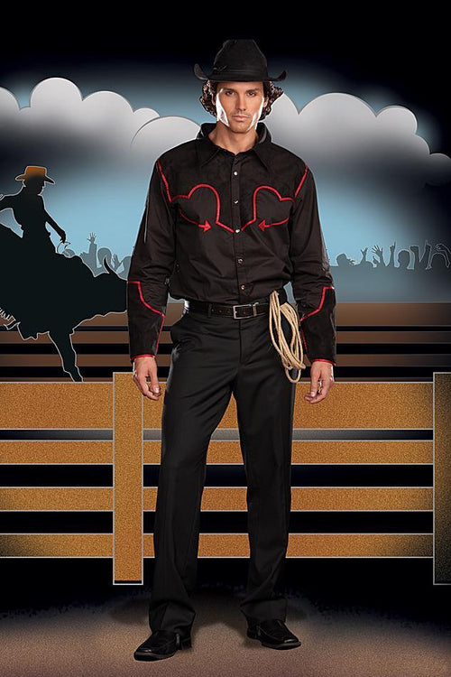 Dreamgirl Costumes Men's Buckin' Bronco Western Costume