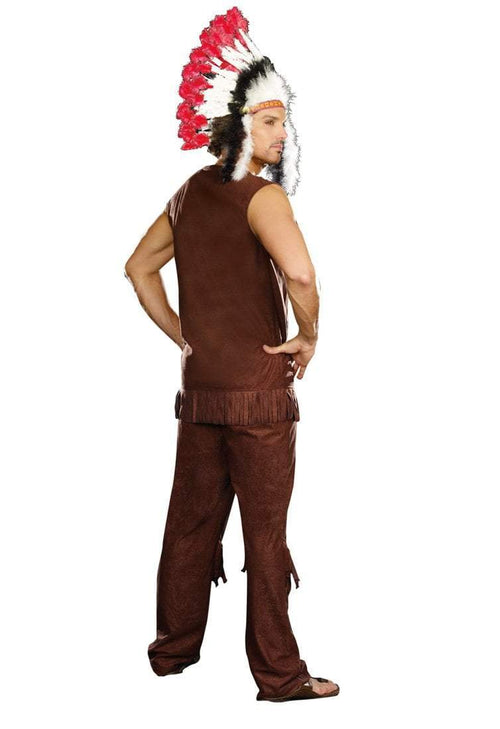 Dreamgirl Costumes Men's Chief Long Arrow Costume
