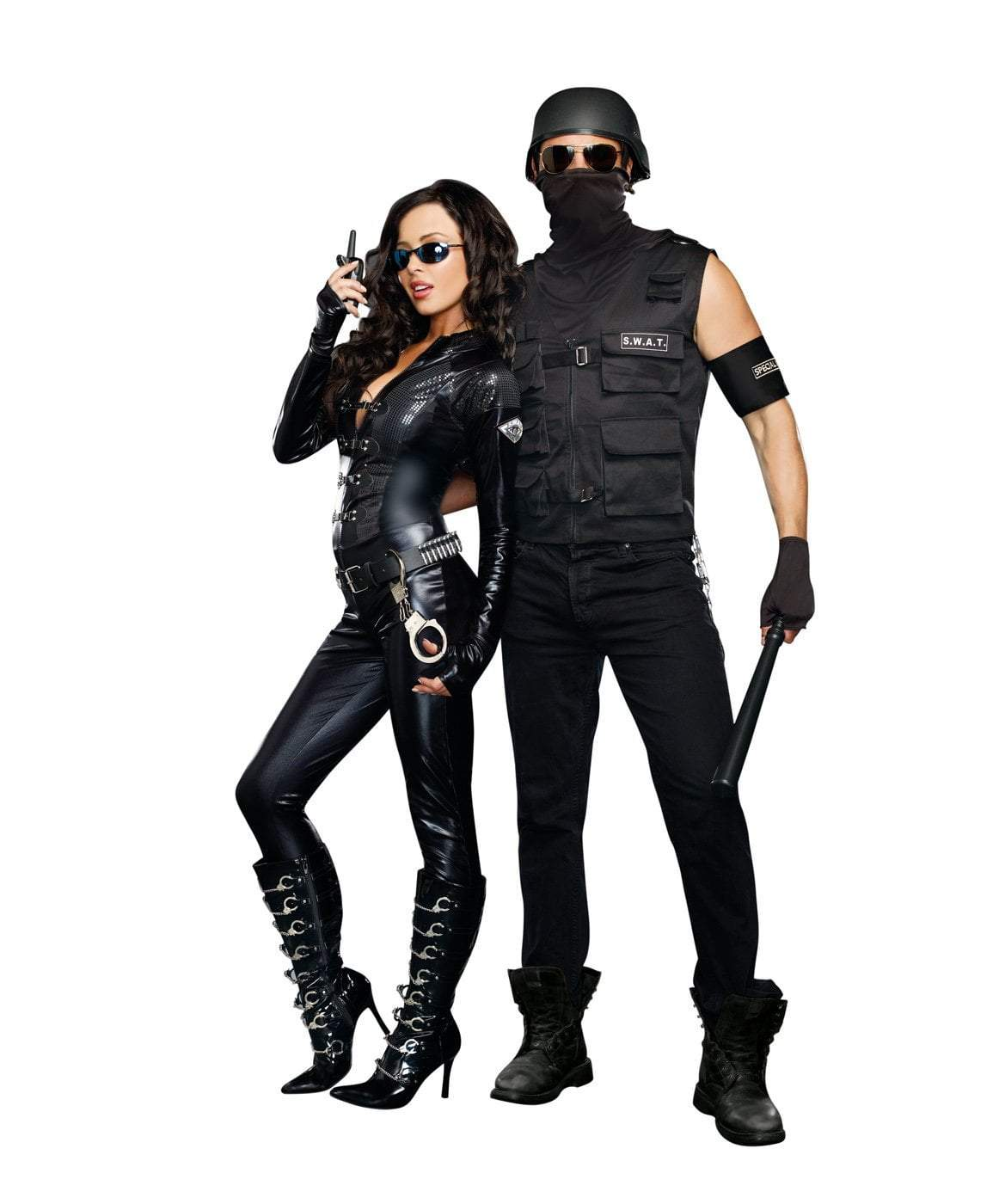 Dreamgirl Costumes Men's Special Ops Police Costume