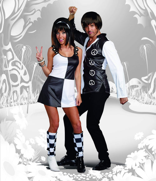 Dreamgirl Costumes Mens Yeah Baby 60s Costume